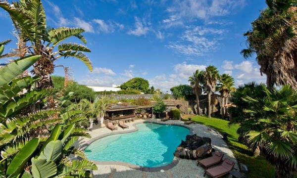 Casa Tomarén, piscina e area relax