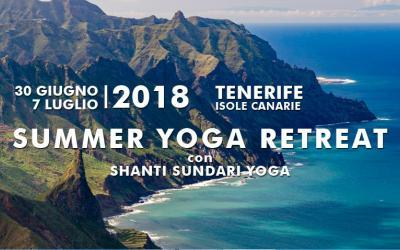 Yoga Retreat a Tenerife